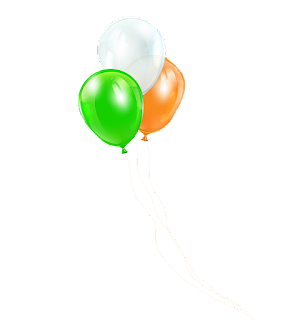 Tricolor baloon png