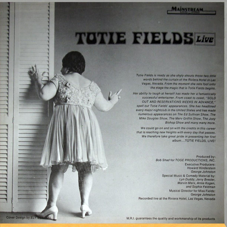 Totie Fields Last Appearance Related Keywords Suggestions Totie