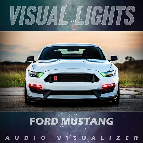 VISUAL LIGHTS - Ford Mustang Boss 302 Wallpaper Engine