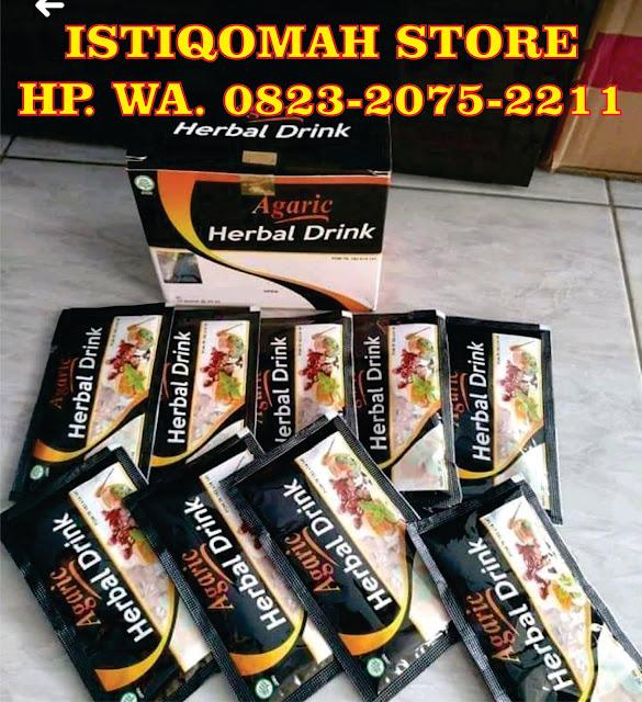 Obat Amandel Alami, Aman dan Ampuh Agaric Herbal Drink Sudah BPOM