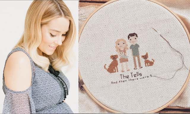 Lauren Conrad announced she and her husband finally welcomed baby boy with adorable picture