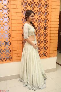 Raashi Khanan looks stunning in Crop Top Deep neck Choli Ghagra Transparent Chunni WOW ~  Exclusive Celebrities Galleries 095.JPG