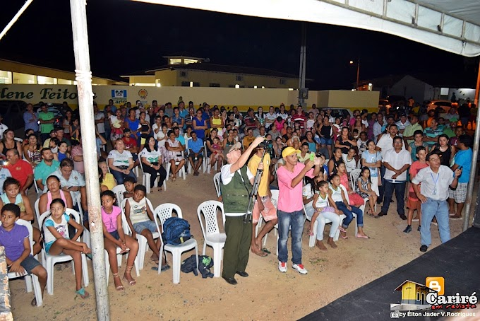Prefeito Antônio Martins inaugura a Unidade Básica de Saúde Raimundo Bonfim de Oliveira, na localidade de Almas - Cariré