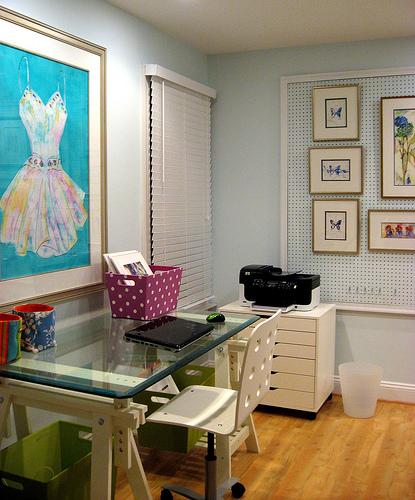 Remodelaholic Art Studio Inspirational Space