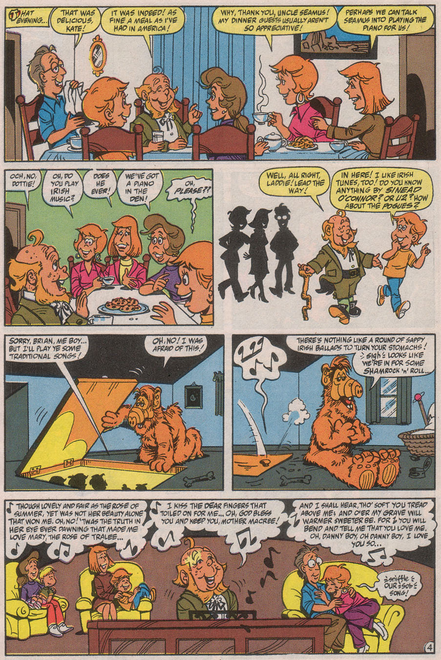Read online ALF comic -  Issue #40 - 6