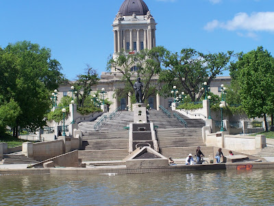 Manitoba, the Forks, Louis Riel, the legistlature