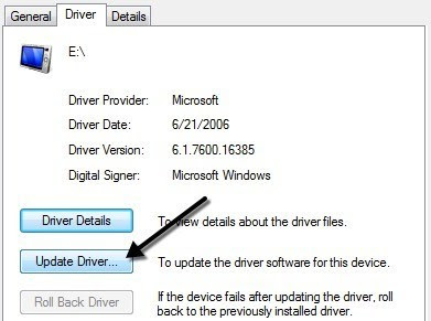 Cara Perbaiki Flashdisk Memory dan Pen Drive Rusak Corrupted - update driver 2