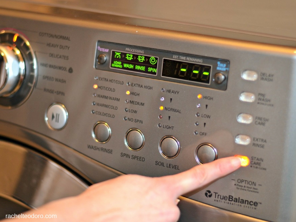 how to clean front load washer with vinegar