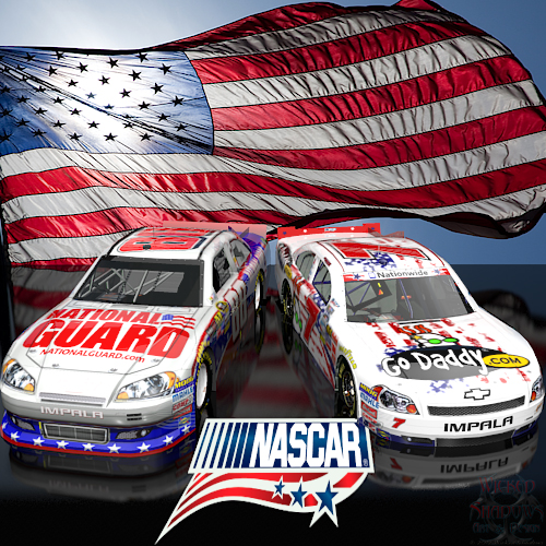 Wallpapers By Wicked Shadows: Dale Earnhardt Jr And Danica