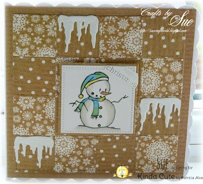 Showcasing Snowman, free digital stamp
