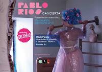 Concierto de Pablo Ríos en Rock Palace