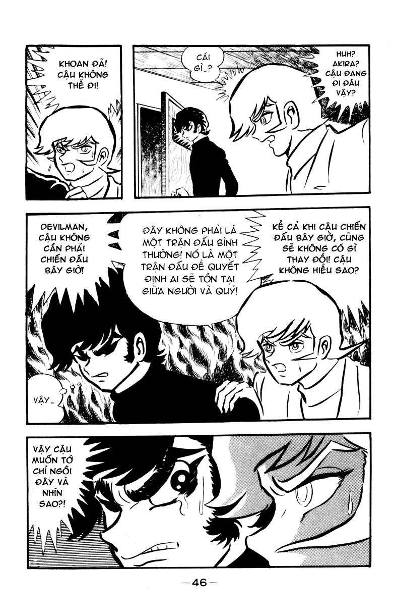 DevilMan chapter 18 trang 1