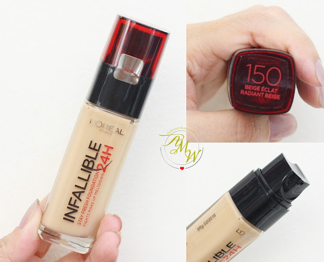 a photo of L'Oreal Infallible 24H Stay Fresh Foundation