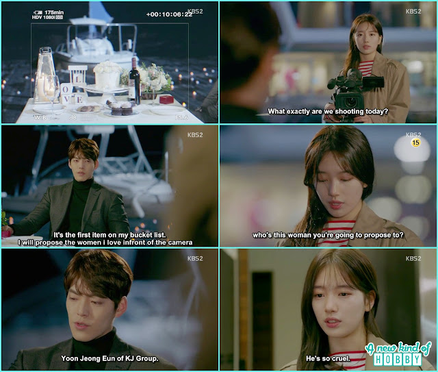 jon young planned to propose a girl he love infront of the camera - Uncontrollably Fond - Episode 17 Review