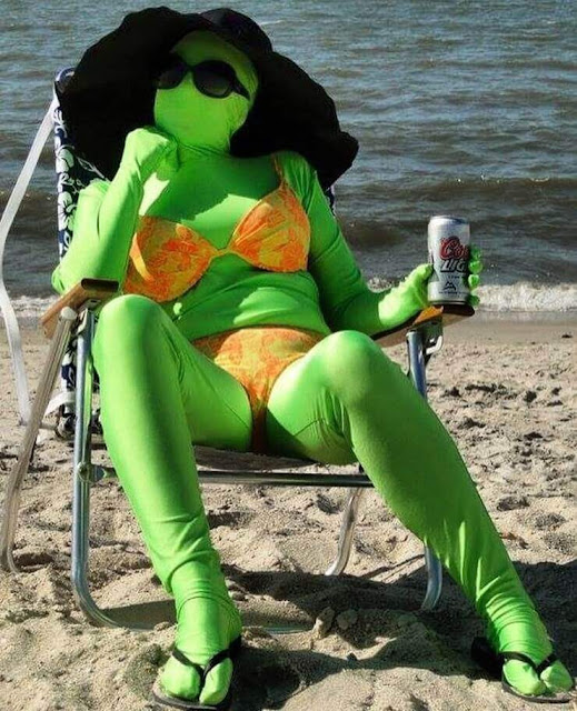 Ficar sem tomar sol na praia