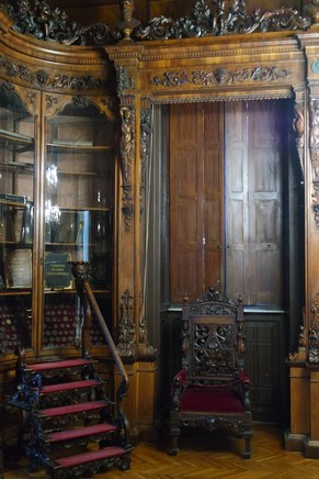 trieste musée revoltella bibliothèque