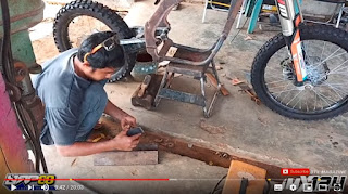 Bengkel Modifikasi Trail Paling TERKENAL Di Lampung