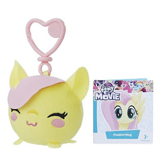 My Little Pony the Movie Fluttershy Clip and Go Plush Keychain by Hasbro