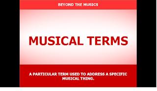 Beyond The Musics: MUSIC INFO