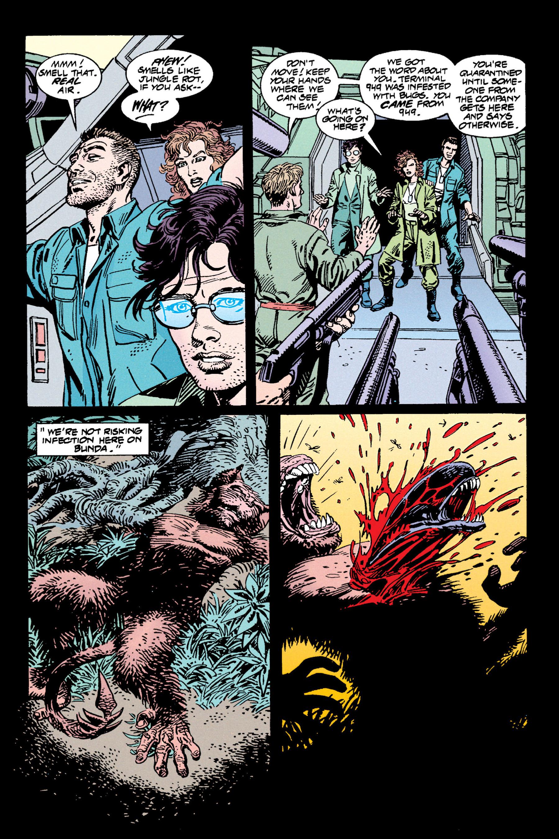 Read online Aliens vs. Predator Omnibus comic -  Issue # _TPB 1 Part 3 - 64