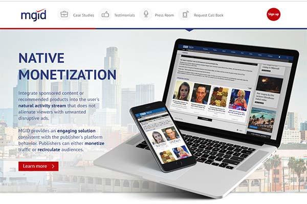 MGID Alternatif Monetisasi Blog