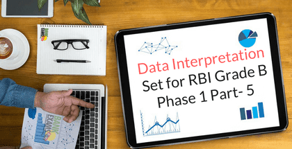 Data Interpretation Set for RBI Grade B Phase 1 Part- 5