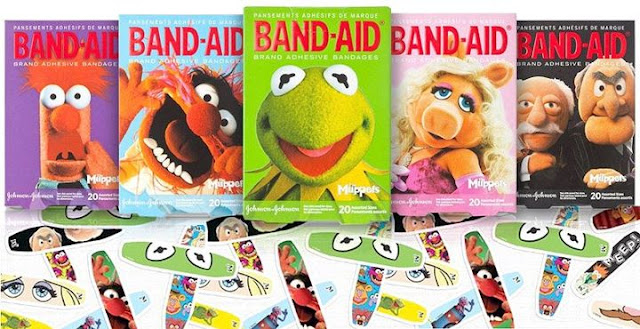Band-Aids Muppets