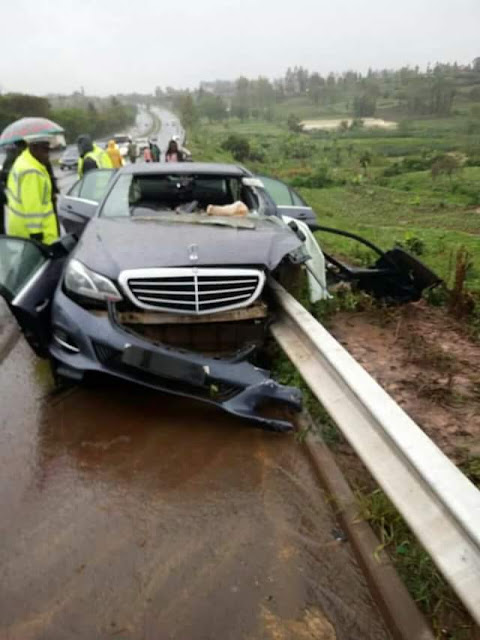 Photos: Kenyan Governor killed in road accident on his way to an interview
