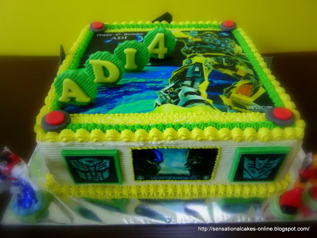 Transformer Birthday Cake Singapore