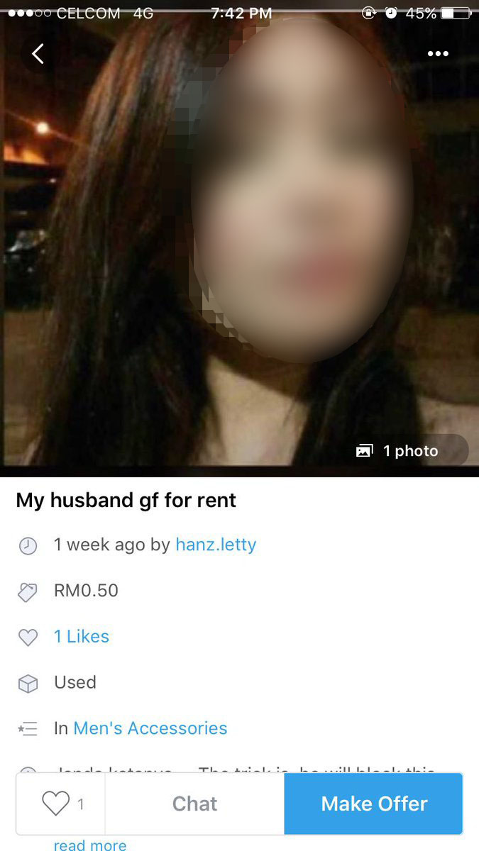 Dia block nombor janda tu sebelum balik rumah' - Curang, isteri