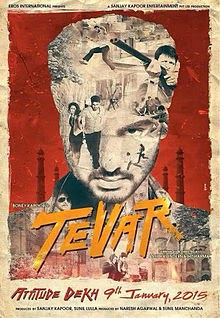 Arjun Kapoor New action movie tevar Poster, images