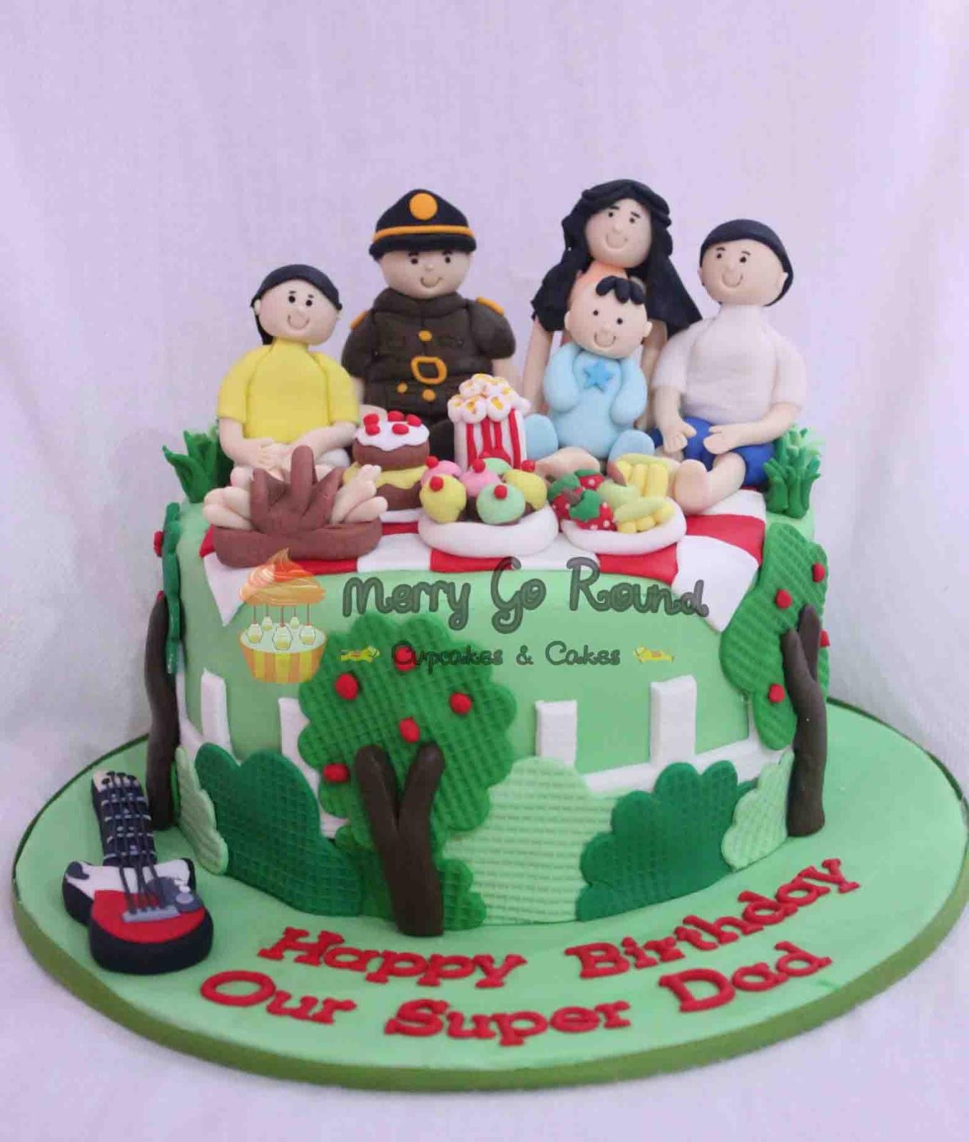 Macaron Birthday Cake Jakarta