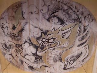 円覚寺白龍図