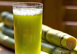 Ganne ka ras (Sugarcane Juice