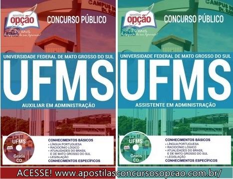 Apostila da UFMS Técnico administrativo 2018