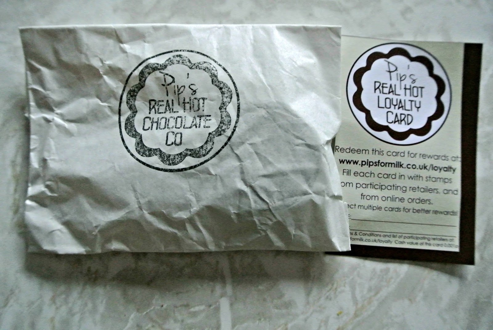 Pips Real Hot Chocolate Coin Degustabox