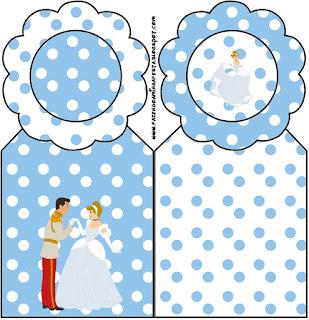 Cinderella  Free Printable Bookmarks.