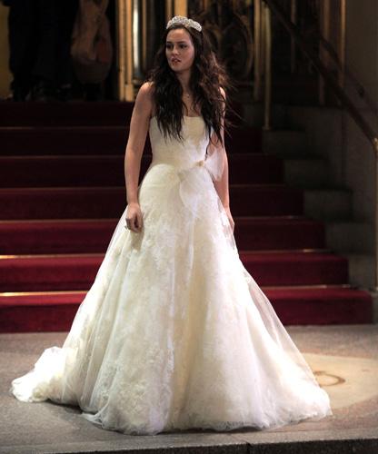 Blair Waldorf S Vera Wedding Dress