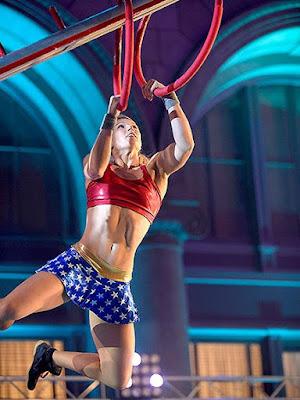 Η Απίστευτη Jessie Graff American Ninja Warrior!!!