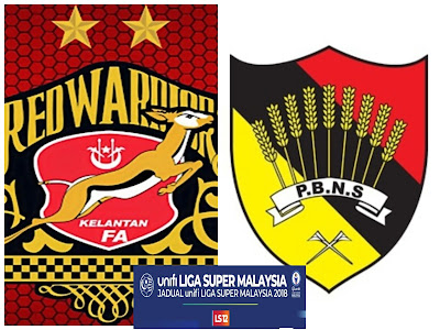 Live Streaming Kelantan vs Negeri Sembilan Liga Super 26.5.2018