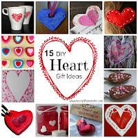 valentines day craft ideas for kids:  DIY heart gift ideas