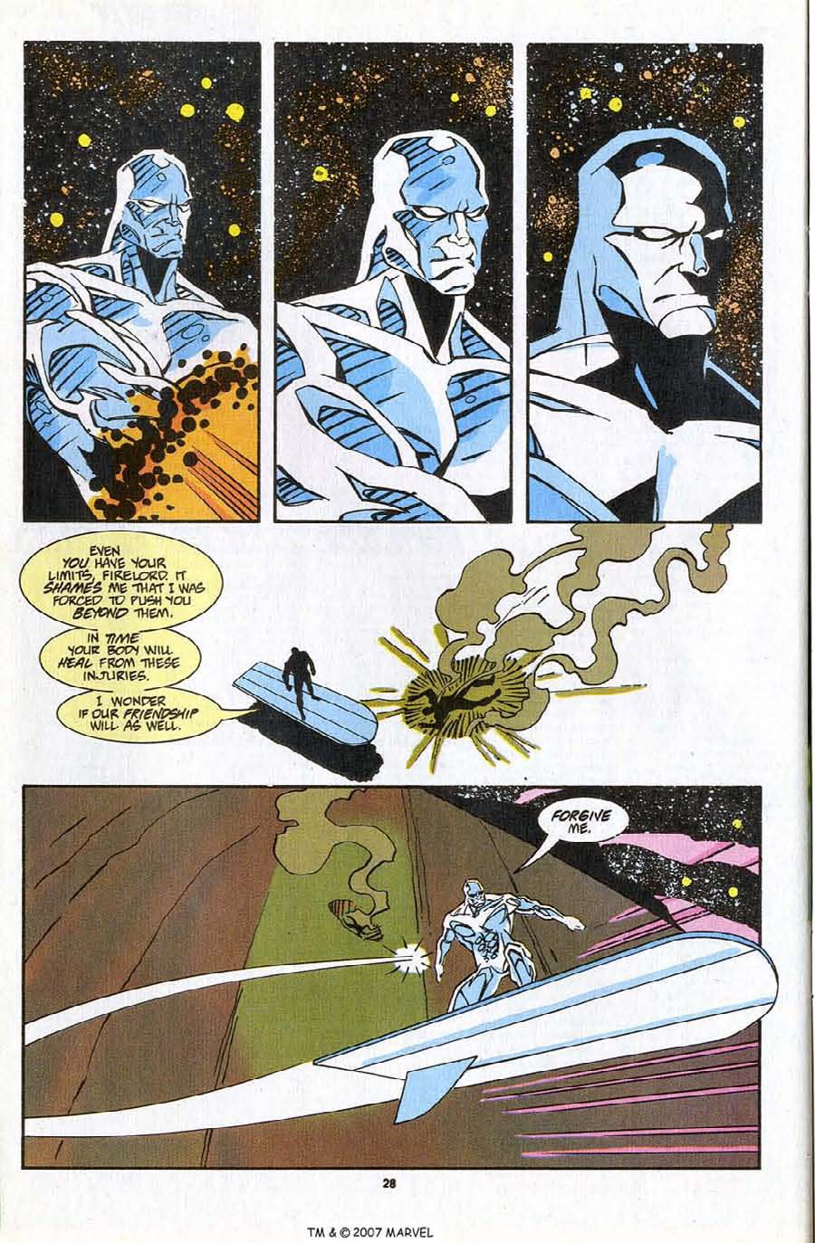 Read online Silver Surfer (1987) comic -  Issue #83 - 30