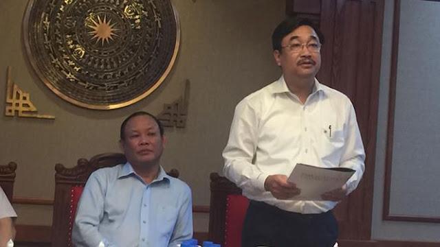 Ông Hoàng Lê Bách, Tổng giám đốc Nhà xuất bản Giáo dục Việt Nam