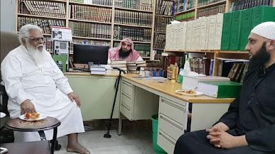 Kini Pengajar Di Masjid Nabawi