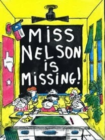 Miss nelson is missing book