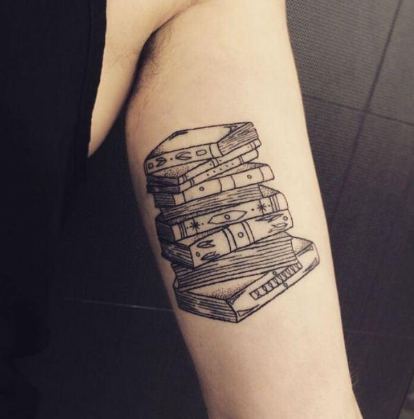 Inner Bicep Tattoos