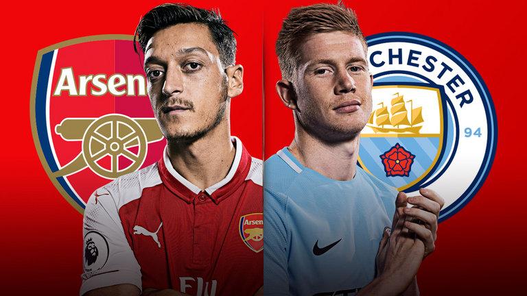 مباراة مانشستر سيتي وارسنال 3-2-2019 البريميرليج