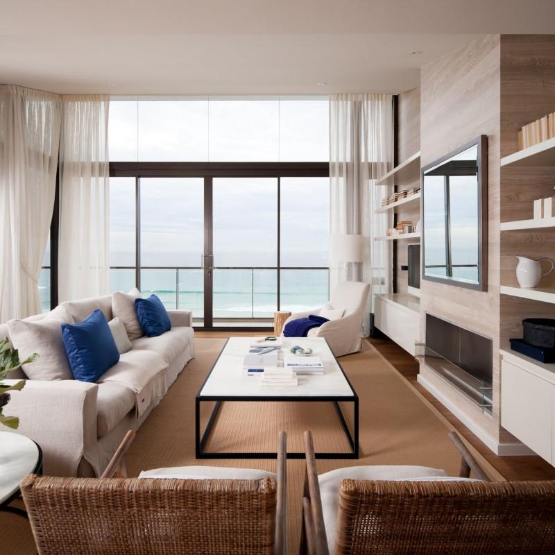Desain rumah modern interior unik
