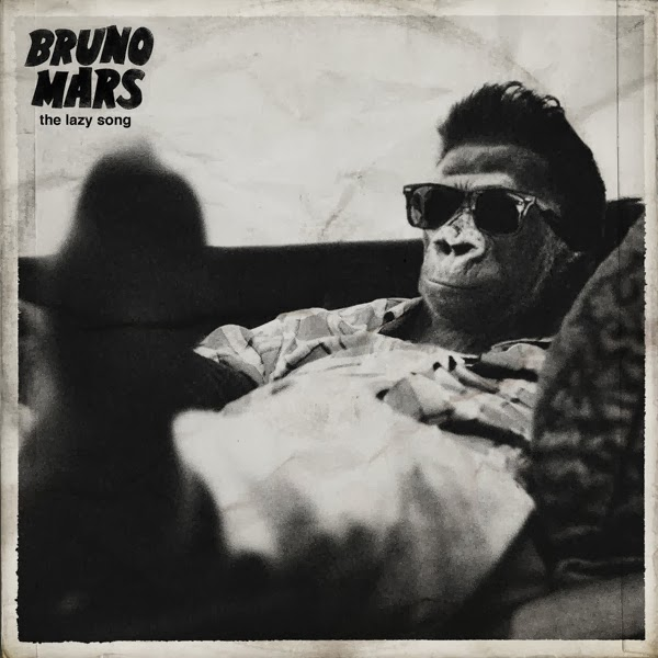 Bruno Mars - The Lazy Song - Single Cover