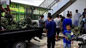 Ingin Berkhidmat, Kafilah Hidayatullah Sulbar Angkut Berkuintal Pisang ke Silatnas